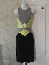 Miss Selfridge Women's Knee Length Stretch, Bodycon Clubwear Dresses