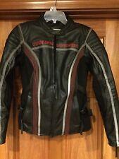 Harley-Davidson Velocity RCS Black  Leather Jacket Women's Size Small 97155-13VW