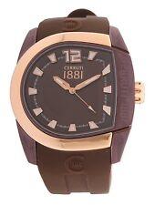 Cerruti CRF001L555I Herrenuhr Chronograph Datum Edelstahl Uhr Armband