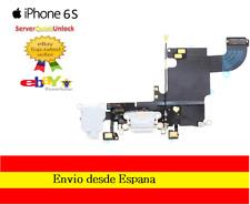 CONECTOR FLEX CARGA + MICROFONO + ANTENA PARA IPHONE 6S BLANCO