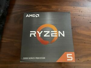 AMD Ryzen 5 5600X Desktop Processor (4.6GHz, 6 Cores, Socket AM4) BNIB