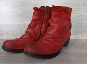 Fly London, Boots, Stiefelette, rot, Gr.41