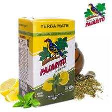 500g YERBA MATE PAJARITO Saborizada -Mint & Lemon TEA Energy Boost Weight Loss