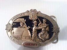 Americas Finest Sheriff Vintage belt Buckle