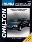 Chilton Repair Manual 30200 Honda Civic, CRX & del SOL, 1984-95