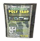 Poly Tarp Multi-Purpose 6' x 8' All Season Camouflage Gosport Tarpaulin Cover