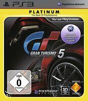 PS3 / Sony Playstation 3 Spiel - Gran Turismo 5 [Platinum] DE mit OVP