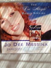 Radio Show: JO DEE MESSINA 'I'M ALRIGHT' SPECIAL! HOST BY LON HELTON/INTERVIEWS