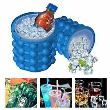 Ice Cube Tray Silicone Genie Revolutionary Space Saving Wine Ice Bucket Holds