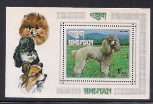Bhutan   1973   Sc # 149N   s/s   Perf.   MNH   OG   (53289)