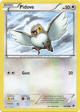 Pidove Common Pokemon Card BW2 Emerging Powers 80/98