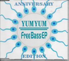 YUM YUM - Freebass E.P. CD SINGLE 4TR House 1995 Germany RARE!