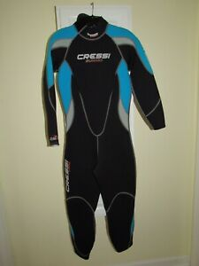 New Cressi Lady Summer 2.5mm One-Piece Full Body Wetsuit Women's Size L/4 L / 4