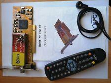 NPG TV Tuner PCI Board Conexant Decoder chip CX23881 w/ remote Real TV top 10