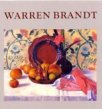 WARREN BRANDT by Nicholas Fox Weber 1988-Hardcover 84 ILLUSTRATIONS-68 FULLCOLOR