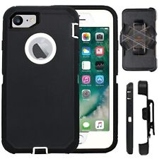 Apple iPhone Full Protection Defender Rugged Cover (Belt Clip Fits Otter Box)