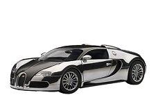 Autoart 1/18 Bugatti Veyron Pur Sang (Black / Aluminum)