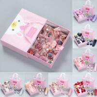 18PCS Baby Girls Head wear Elastic Bow knot Hair Clip Barrette Hairpin Xmas Gift