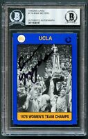 Anne Meyers #119 signed autograph UCLA 1991 Collegiate Collection Card BAS Slab