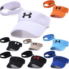 NEW Under Armour Mens Women Breathable Lightweight Visor Hat Golf Baseball Cap