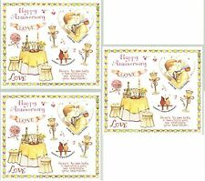 Susan Branch ANNIVERSARY LOVE Scrapbook Stickers 3 Sheets