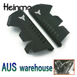 Radiator Grille Side Guard Cover Protector for Yamaha MT07 FZ07 2013-2017 Black
