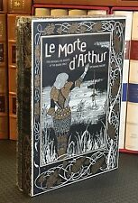 LE MORTE D' ARTHUR by Sir Thomas Mallory- Deluxe Hardcover Slip Case New Sealed