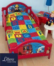 Fireman Sam Duty Junior Toddler Cot Bed Bundle Duvet Pillow 4 in 1