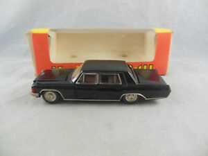 Vintage Russian Yanka TA3 14 State Limousine A3 14 in Black 1:43 Scale CCCP