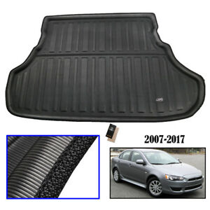 For Mitsubishi Lancer Sedan 2008-2016 Rear Trunk Cargo Boot Mat Liner Floor Tray
