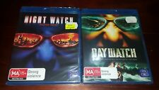 *New & Sealed*  Night Watch + Day Watch 1&2 BLU RAY Movie Bundle - Region B AUS