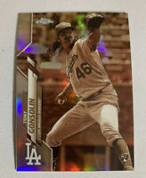 2020 Topps Chrome Tony Gonsolin Sepia Refractor Rare RC Rookie Dodgers