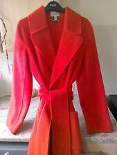 Ted baker style wool wrap coat med