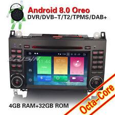 "AUTORADIO DVD 7"" ANDROID 8.0 OctaCore 4GB-32GB Mercedes Classe A B W219 Vito"