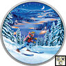 2017 $15 .9999 FINE SILVER - GREAT CANADIAN OUTDOORS: NIGHT SKIING (18000) (NT)