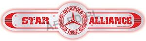 Mercedes TRUCK MIRROR LED SIGN TRUCK REAR WALL-LED Sign-L100cm!