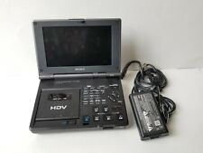 SONY HDV DIGITAL HD VIDEO CASSETTE RECORDER GV-HD700/1 FIREWIRE IN/OUT HIGH DEF.