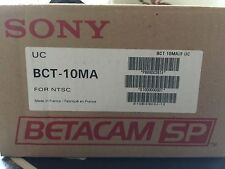 SONY BCT-10MA SMALL BETACAM TAPES BOX OF 10 ALL NEW UNOPENED
