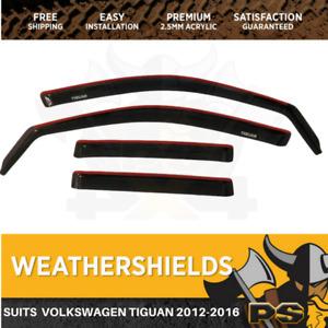 Superior Weathershields for Volkswagen Tiguan 2007-2016 Window Visors
