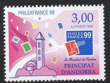 ANDORRA SGF556 1999 PHILEXFRANCE 99 MNH