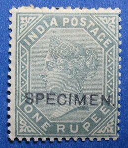1883 INDIA 1R SCOTT# 46 S.G.# 101 UNUSED SPECIMEN CS11037