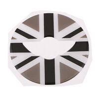 Adesivo decalcomania volante 3D per la MINI F54 F55 F56 2014-2016 grigio +