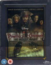 NEW Pirates of the Caribbean: At World's End SteelBook Blu-ray UK Zavvi - Mint