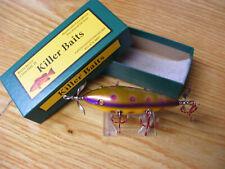 Killer Baits Rusty Jessee Heddon 300 Style Glasseye 5 Hooker n Purple Pearl Spot