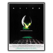 ALIEN 1979 METAL SIGN PLAQUE Retro Film Movie Advert poster print decor