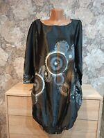 Desigual women's dress size 42 L    black color