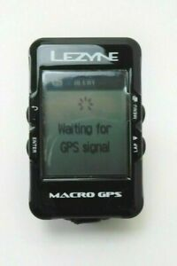 Lezyne Macro GPS unit for cycling