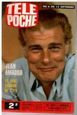 ▬►Télé Poche 499 (1975) JEAN AMADOU_PASCALE RIVAULT
