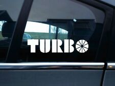 2X Saab 99 'Turbo' style Stickers retro, classic turbocharged saab sticker,decal
