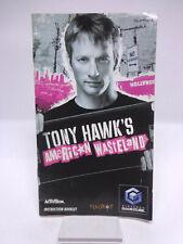 Anleitung-Handbuch-Bedienungsanleitung Gamecube - Tony Hawk´s American Wasteland